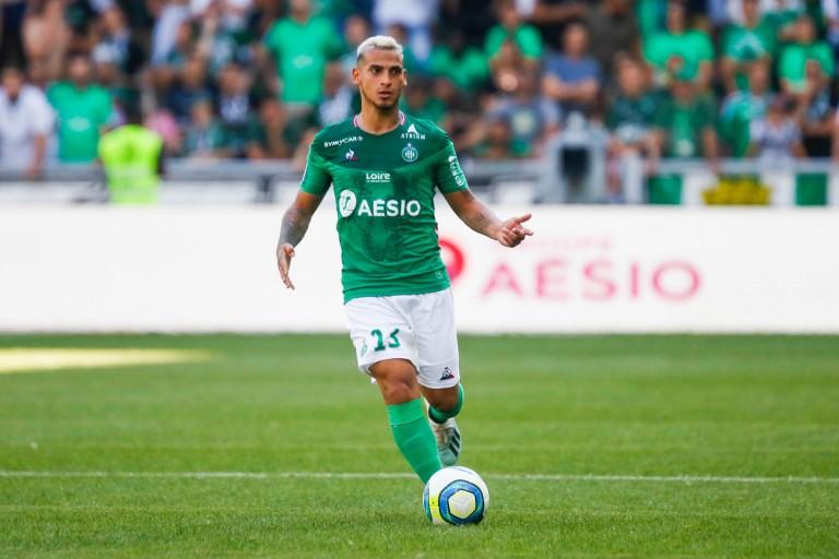 Miguel Trauco, défenseur latéral de l' ASSE.