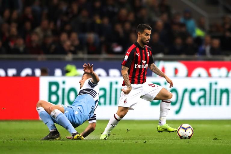 Suso, miliue offensif de l'AC Milan courtisé par l' OL.