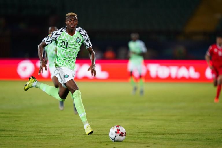 Victor Osimhen a marqué avec le Nigéria contre le Bénin