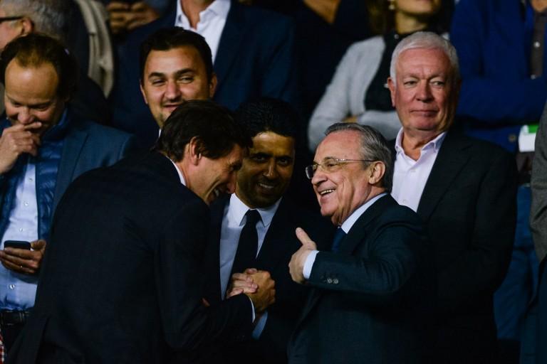Real Madrid - PSG, les dirigeants vont se frotter les mains