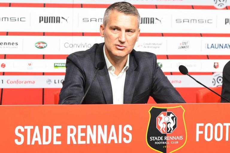 Olivier Letang, président du Stade Rennais.