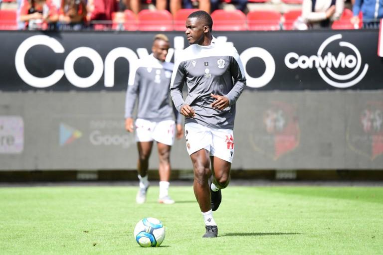 Stanley Nsoki, défenseur de l'OGC Nice.