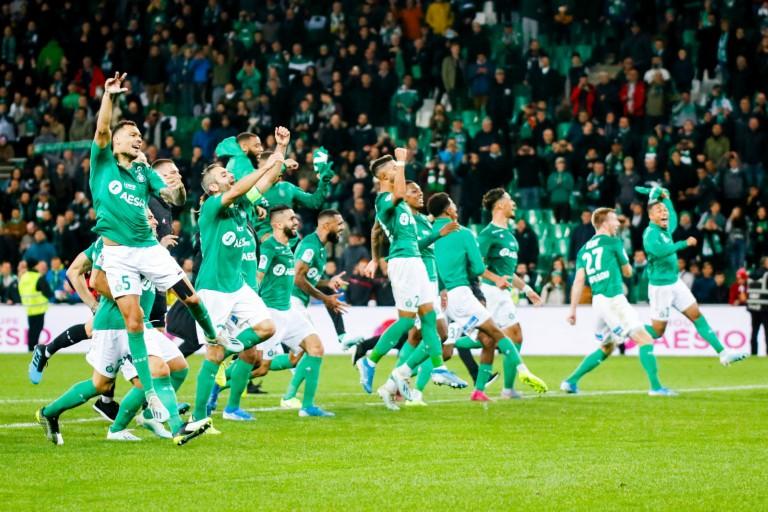 L'ASSE s'est imposée 3-2 à Nantes dimanche après-midi