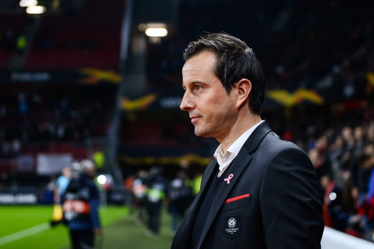 Julien Stéphan, entraineur du Stade rennais.