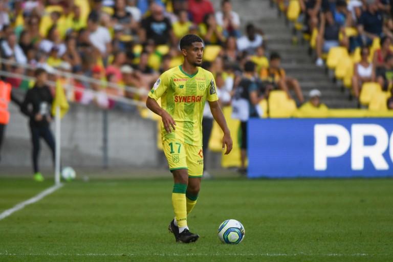 Ludovic Blas sous les couleurs du FC Nantes.