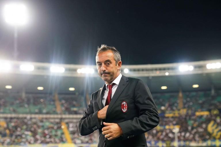 L' AC Milan se sépare de Marco Giampaolo.