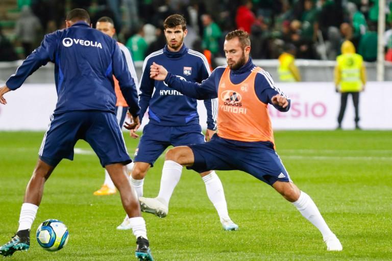 Deux absents dans l'équipe de l' OL contre Dijon.