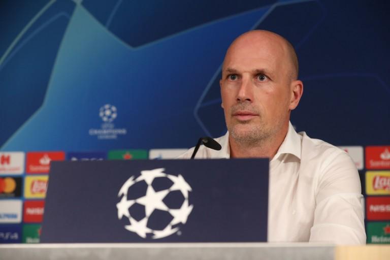 Philippe Clement, entraîneur du FC Bruges.