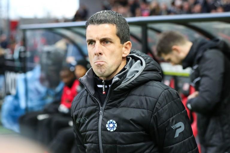 SYlvain Didot le coach de Guingamp.