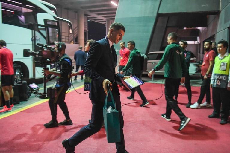 Thomas Meunier, latéral droit du PSG, retrouve le FC Bruges, son ancien club.