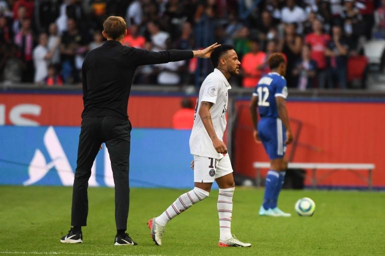 PSG : Thomas tuchel et neymar