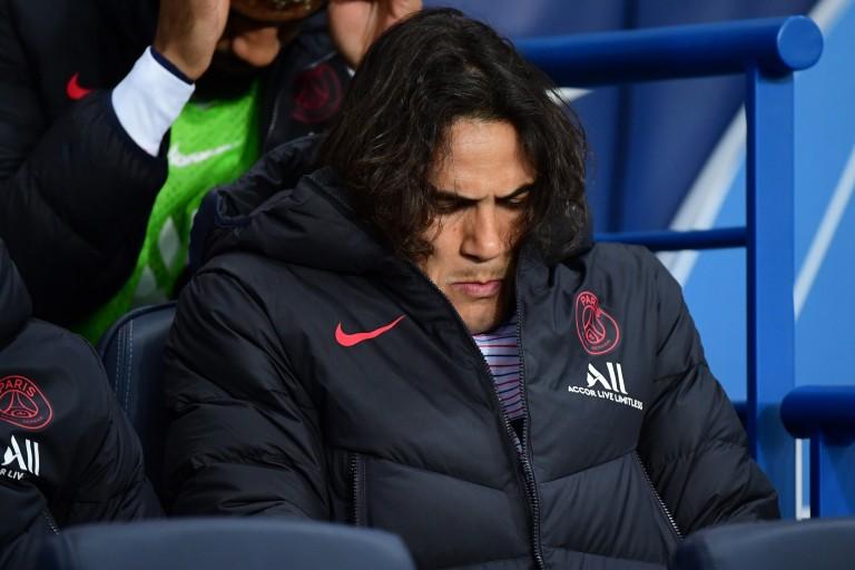 PSG : Edinson Cavani frustré d'être sur le banc