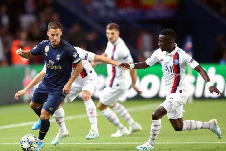 Idrissa Gueye et le PSG retrouvent le Real Madrid d'Eden Hazard mardi prochain en Ligue des Champions.