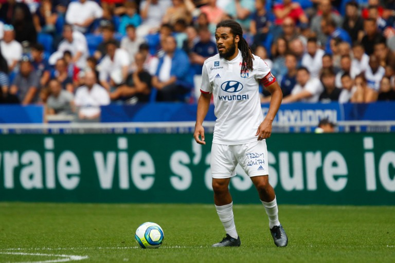 Jason Denayer, capitaine de l' OL.