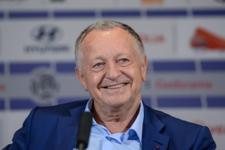 Jean-Michel Aulas, président de l' OL.