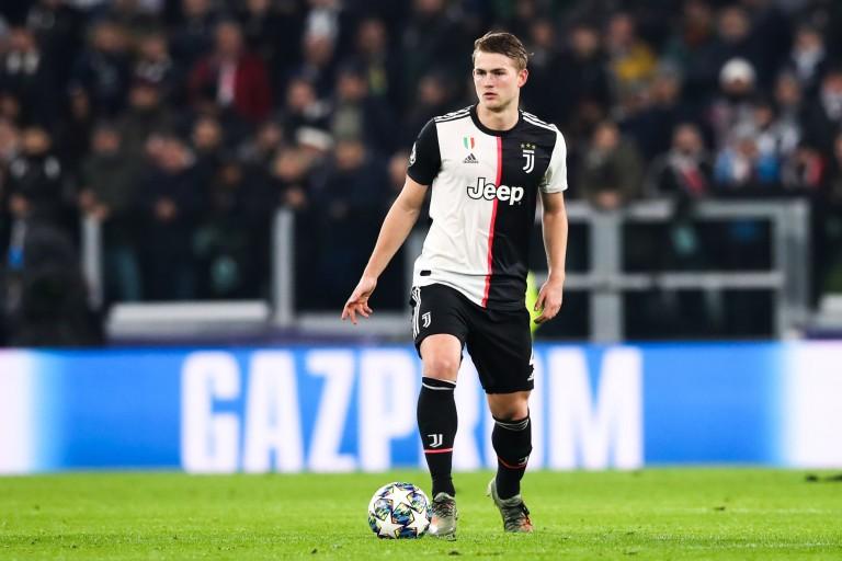 Matthijs de Ligt, défenseur de la Juventus, visé par Manchester United