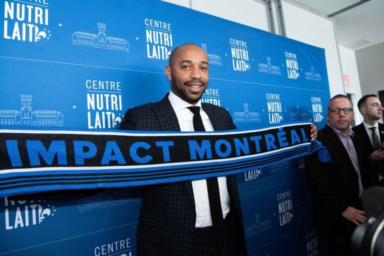 Thierry Henry, nouvel entraineur de l'Impact de Montréal.