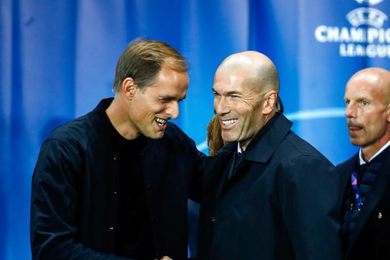 Zinédine Zidane et Thomas Tuchel se retrouvent mardi soir à Santiago Bernabeu à l'occasion du choc entre le Real Madrid et le PSG.