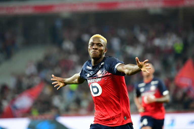 Victor Osimhen a l'aval des supporters du LOSC