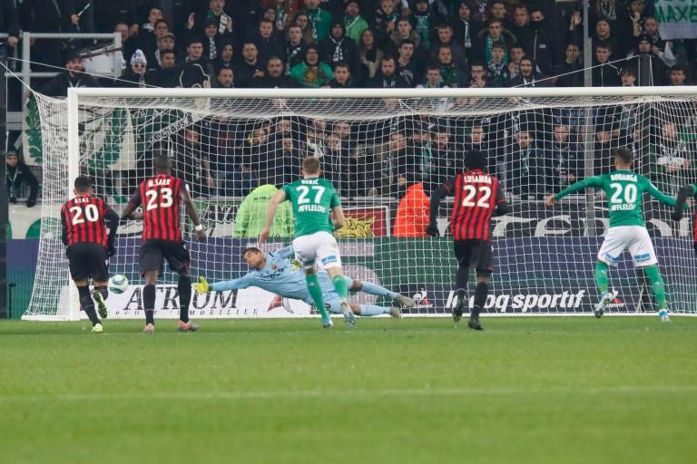 L' ASSE a battu l'OGC Nice (4-1) lors de la 16e journée de Ligue 1.