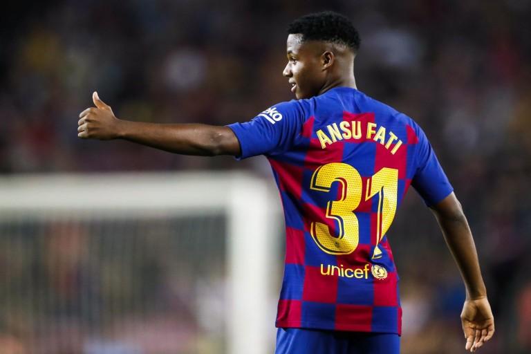 Manchester United aux trousses d' Ansu Fati