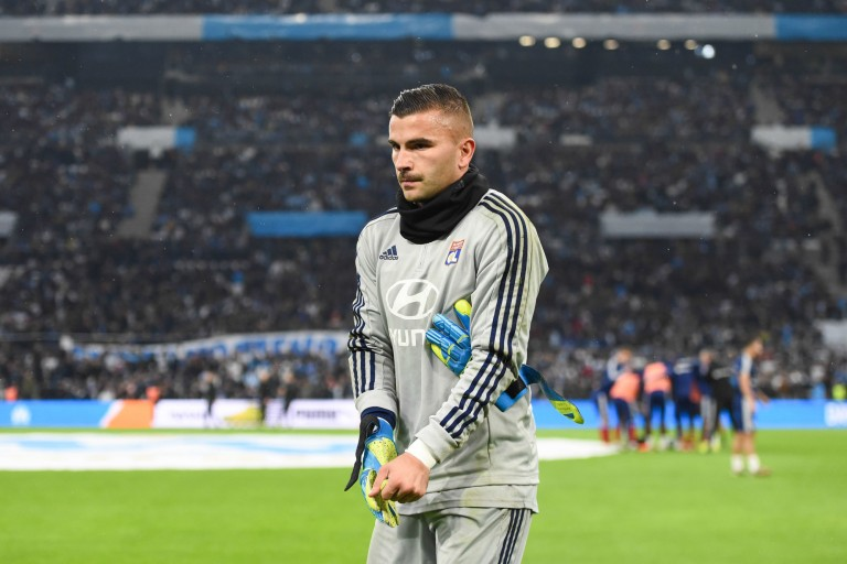Anthony Lopes, gardien de but N°1 de l' OL.