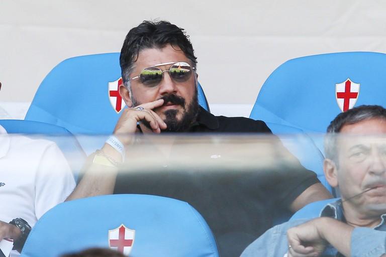 Gennaro Gattuso, nouvel entraineur de Naples.