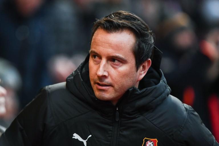 Julien Stéphan, coach du Stade Rennais.