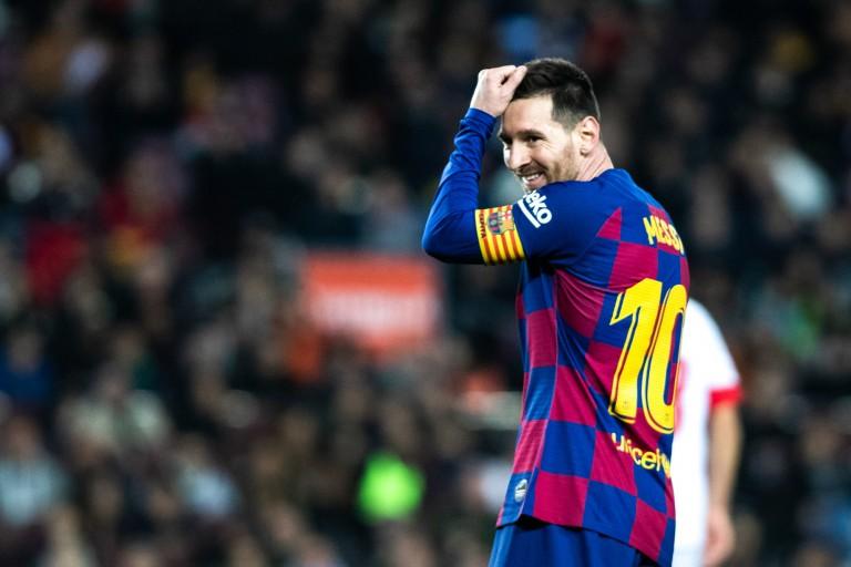 Lionel Messi, Messi, SSC Naples-Barça, Ligue des champions