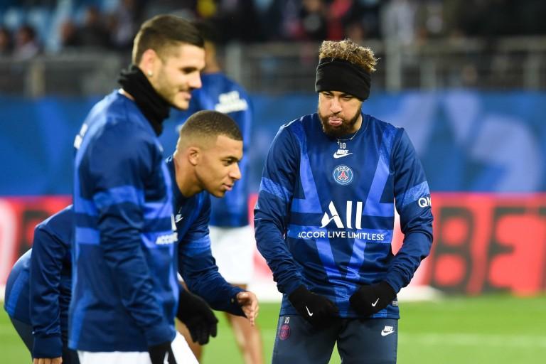 Le PSG a pu compter sur ses attaquants Neymar, Mbappé et Icardi pour s'imposer à Montpellier.