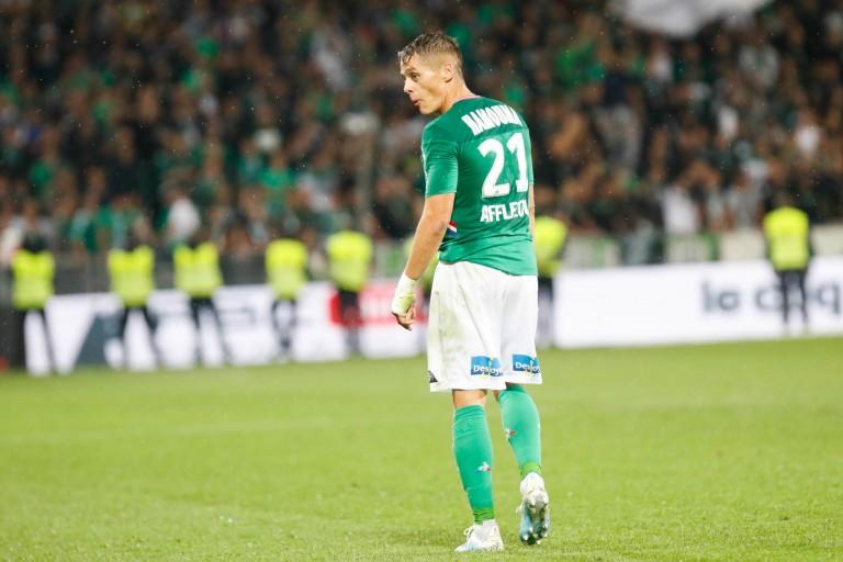 Romain Hamouma, ailier de l'ASSE, dans le viseur du FC Lorient