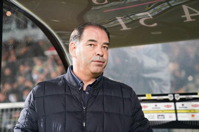 Stéphane Moulin, entraineur d'Angers SCO