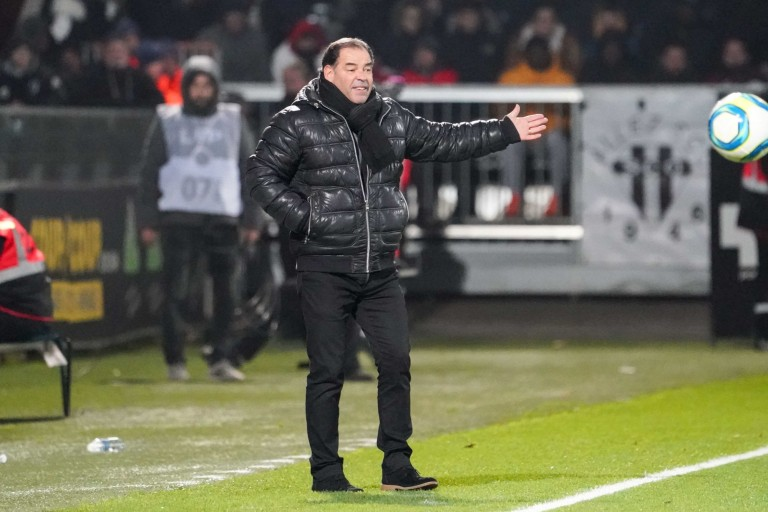 Stéphane Moulin, coach d'Angers SCO