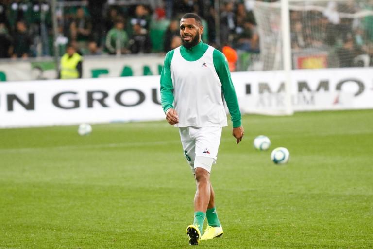 Yann M'Vila, milieu défensif de l'ASSE, visé aussi par l'Olympiakos