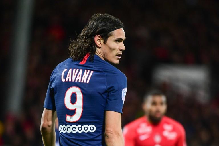 Franck Lampard a clamé son admiration pour Edinson Cavani, l'attaquant du PSG.