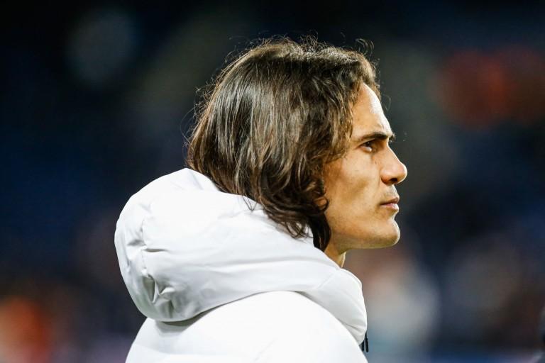 Edinson Cavani, attaquant du PSG.