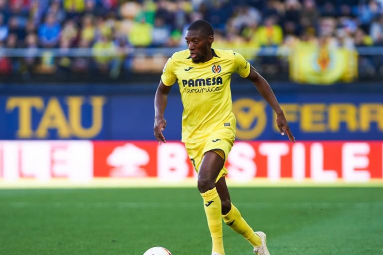 Karl Toko-Ekambi, attaquant de Villarreal visé par l' OL.