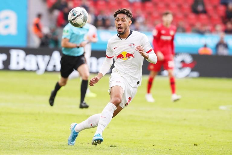 Matheus Cunha, attaquant du RB Leipzig visé par l' ASSE.