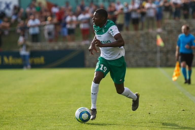 Alpha Nelson Sissoko prêté par l' ASSE au Puy Foot 43 Auvergne.