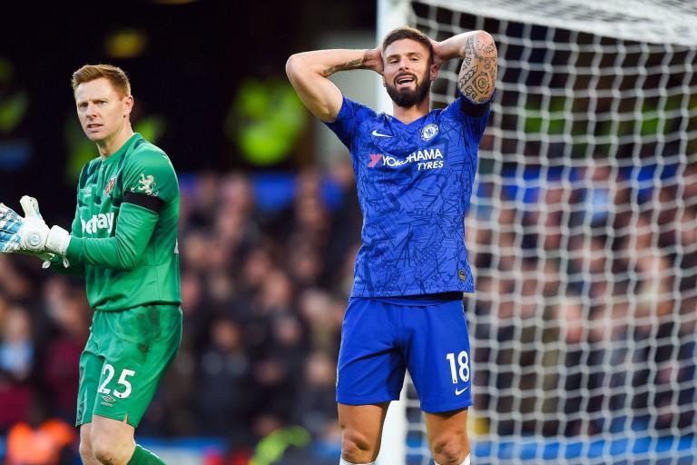 Olivier Giroud menacé par un manque de temps de jeu à Chelsea