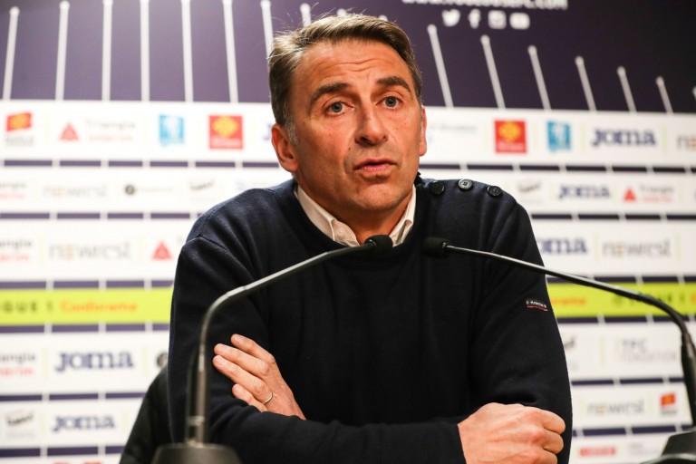 Olivier Sadran, président du Toulouse FC.