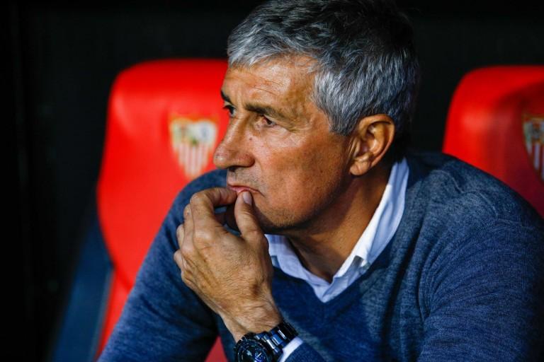 Quique Setién le coach du Barça