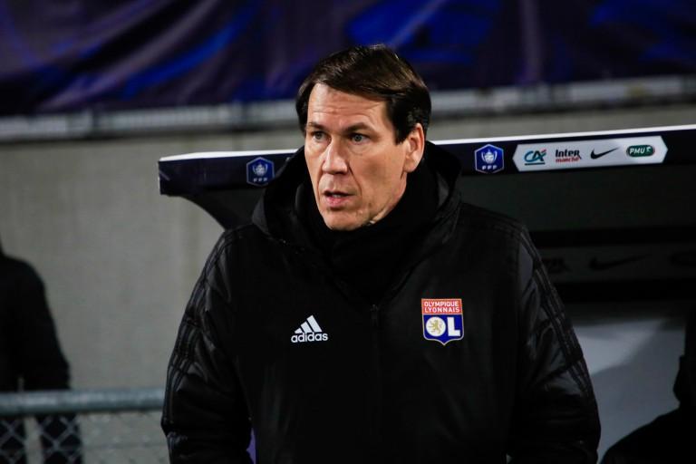 Rudi Garcia, coach de l' OL.