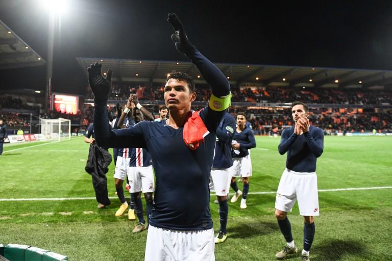 Thiago Silva, capitaine du PSG.
