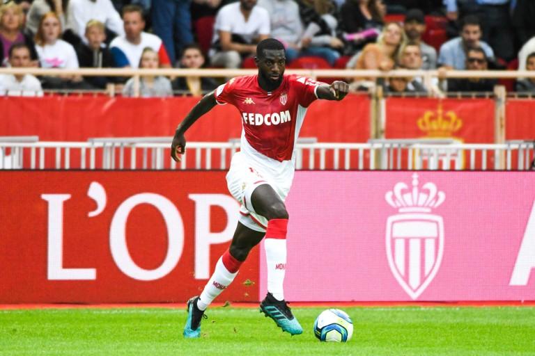 Tiémoué Bakayoko sous le maillot de l'AS Monaco