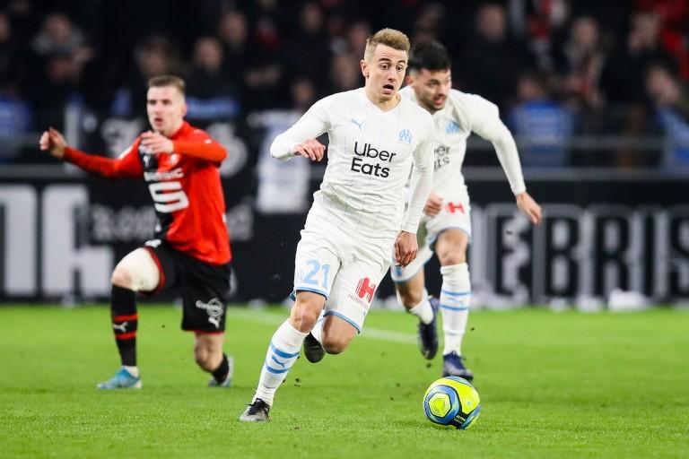 Valentin Rongier a quitté le FC Nantes pour l'Olympique de Marseille l'été dernier