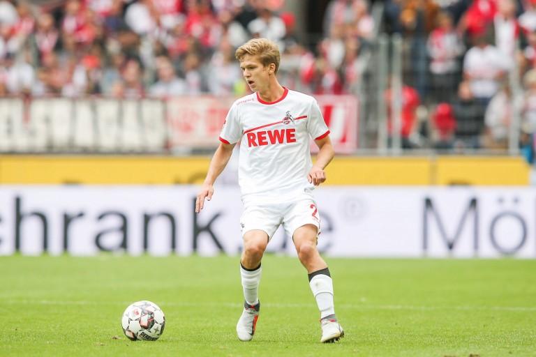 Vincent Koziello, milieu de terrain du FC Cologne.