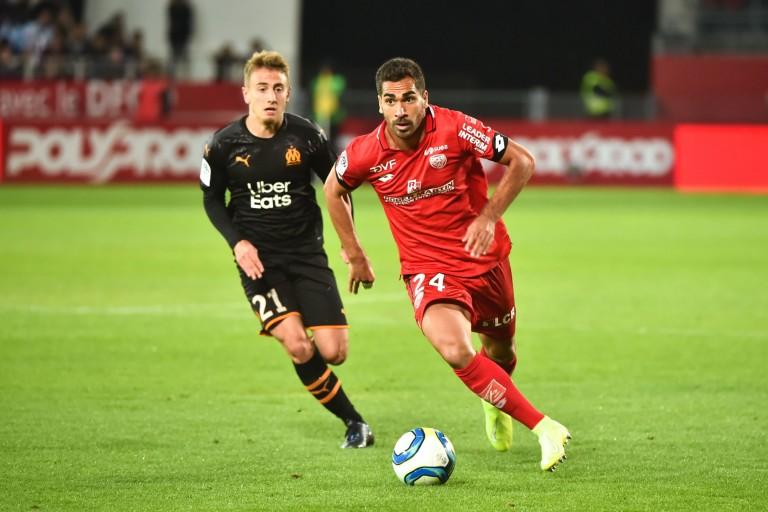 Wesley Lautoa, défenseur du Dijon FCO.