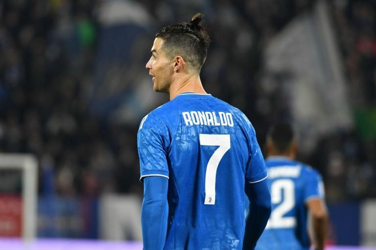 Cristiano Ronaldo, le buteur de la Juventus.