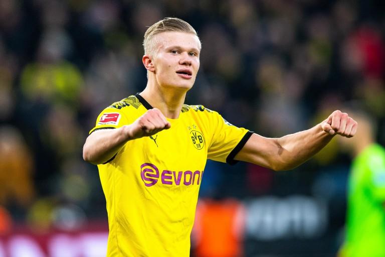 Erling Haaland sous le maillot du Borussia Dortmund